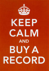 Keep Calm Buy A Recoed